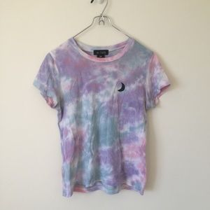 Tie-Dye a.lab Moon Shirt
